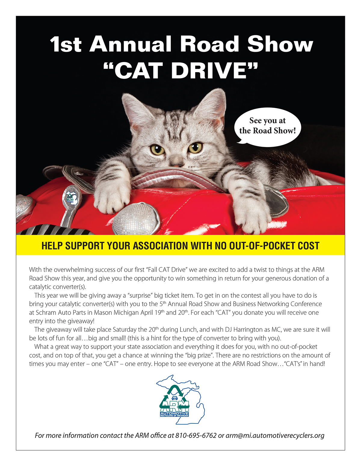 "1st Annual Road Show ""Cat Drive"""